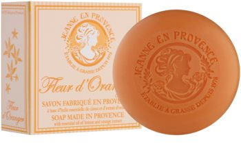 Jeanne en Provence Orange Blossom sabonete francês luxuoso