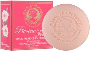 Jeanne en Provence Pivoine Féerie parfémované mýdlo pro ženy