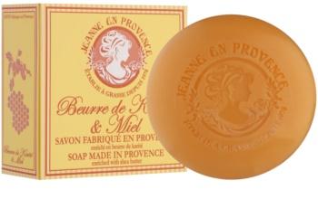 Jeanne en Provence Shea Butter & Honey jabón natural francés