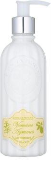 Jeanne en Provence Verbena Citrus creme corporal hidratante