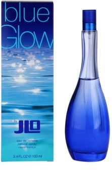 Jennifer Lopez Blue Gloweau de toilette da donna