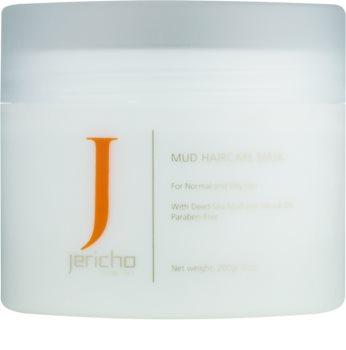 Jericho Hair Care vlasová bahenná maska pre mastnú a podráždenú pokožku hlavy
