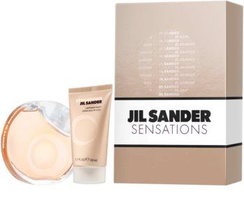 Jil Sander Sensations dárková sada III. pro ženy