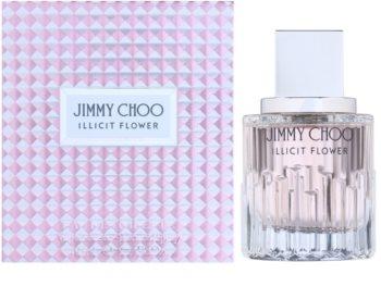 Jimmy Choo Illicit Flower Eau de Toilette pentru femei