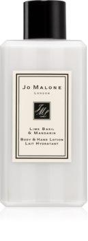 Jo Malone Lime Basil & Mandarin hodvábne telové mlieko
