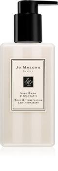Jo Malone Lime Basil & Mandarin hydratačné telové mlieko