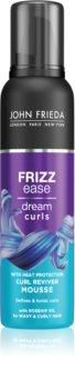 John Frieda Frizz Ease Dream Curls Schaum für kräftigen Haaransatz Lockenpflege für lockiges Haar