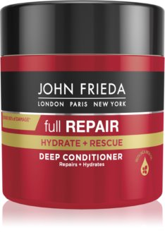 John Frieda Full Repair Hydrate+Rescue Syväelvyttävä Hoitoaine Kosteuttavan Vaikutuksen Kanssa