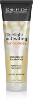 John Frieda Sheer Blonde Highlight Activating Hydraterende Shampoo  voor Blond Haar