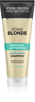 John Frieda Sheer Blonde Highlight Activating vlažilni šampon za blond lase