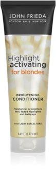 John Frieda Sheer Blonde Highlight Activating balsam hidratant pentru par blond
