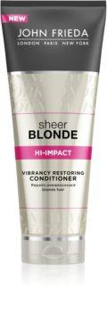John Frieda Sheer Blonde balsam regenerator pentru par blond