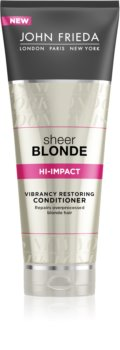 John Frieda Sheer Blonde regenerační kondicionér pro blond vlasy