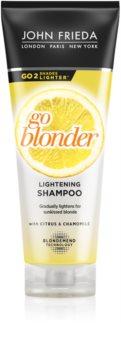 John Frieda Sheer Blonde Go Blonder zesvětlující šampon pro blond vlasy