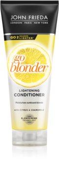 John Frieda Sheer Blonde Go Blonder après-shampoing éclaircissant pour cheveux blonds