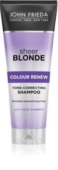 John Frieda Sheer Blonde Colour Renew Tone Correcting Shampoo for Blonde Hair