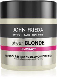 John Frieda Sheer Blonde Flawless Recovery odżywka głęboko regenerująca do włosów blond i z balejażem