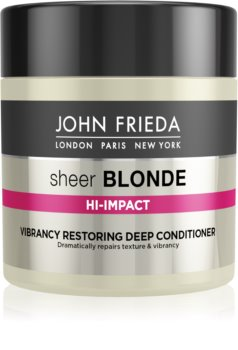 John Frieda Sheer Blonde Flawless Recovery βαθιά αποκαταστατικό κοντίσιονερ για ξανθά και με ανταύγειες μαλλιά