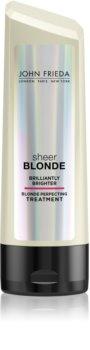 John Frieda Sheer Blonde Brilliantly Brighter balsamo per capelli biondi e con mèches