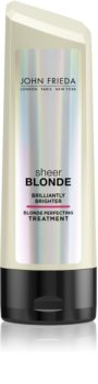 John Frieda Sheer Blonde Brilliantly Brighter Балсам за блонд коса и коса с кичури