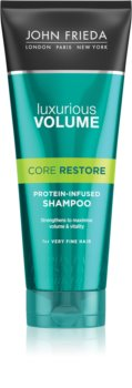 John Frieda Luxurious Volume Core Restore șampon cu efect de volum pentru părul fin