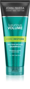 John Frieda Luxurious Volume Core Restore šampon pro objem jemných vlasů