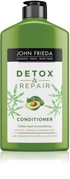 John Frieda Detox & Repair reinigende, ontgiftende conditioner voor Beschadigd Haar