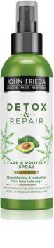 John Frieda Detox & Repair спрей за коса за коса, изложена на високи температури