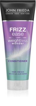 John Frieda Frizz Ease Weightless Wonder uhlazující kondicionér pro nepoddajné a krepatějící se vlasy