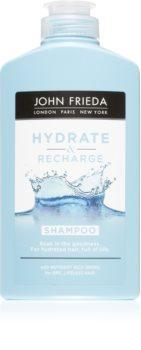 John Frieda Hydra & Recharge hidratáló sampon száraz és normál hajra