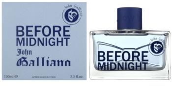 John Galliano Before Midnight voda po holení pro muže