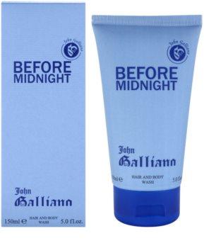 John Galliano Before Midnight gel de douche pour homme