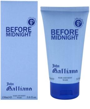 John Galliano Before Midnight gel de duche para homens