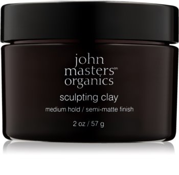 John Masters Organics Sculpting Clay Modeling Clay for a Matte Look