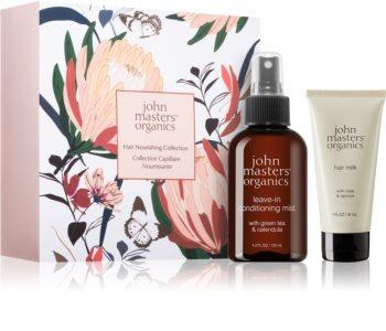 John Masters Organics Green Tea & Calendula подаръчен комплект I. (За коса)