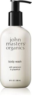 John Masters Organics Geranium & Grapefruit sprchový gel