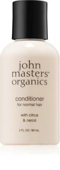 John Masters Organics Citrus & Neroli Flytande organiskt balsam för normalt hår