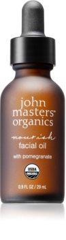 John Masters Organics All Skin Types olejek do twarzy odżywienie i nawilżenie