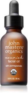 John Masters Organics All Skin Types олио за лице за подхранване и хидратация