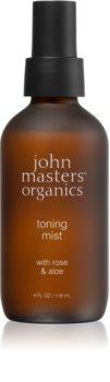 John Masters Organics Rose & Aloe tonizační pleťová mlha