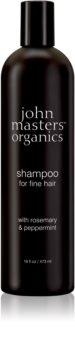 John Masters Organics Rosemary & Peppermint шампунь для тонких волос