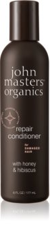 John Masters Organics Honey & Hibiscus obnovující kondicionér pro poškozené vlasy
