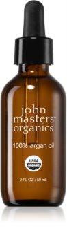 John Masters Organics 100% Argan Oil huile d'argan 100% pure visage, corps et cheveux