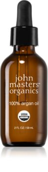 John Masters Organics 100% Argan Oil olio di argan al 100% per viso, corpo e capelli