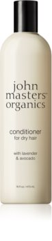 John Masters Organics Lavender & Avocado condicionador intensivo para cabelo seco a danificado