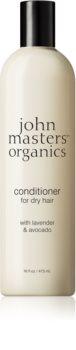 John Masters Organics Lavender & Avocado intenzivni balzam za suhe in poškodovane lase