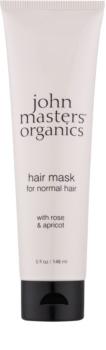 John Masters Organics Rose & Apricot maschera per capelli