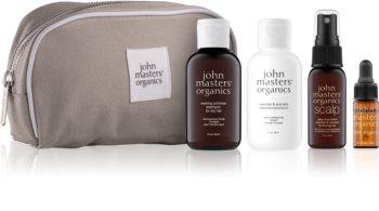 John Masters Organics Travel Kit Dry Hair kit di cosmetici III. da donna
