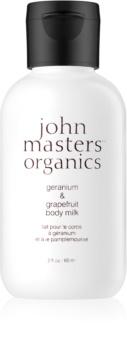 John Masters Organics Geranium & Grapefruit Kropslotion
