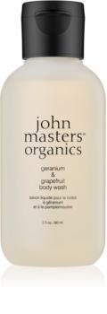 John Masters Organics Geranium & Grapefruit gel de duș